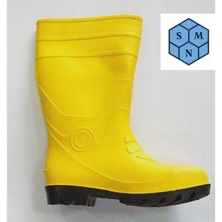 SMN Steel Toe Rubber Boots
