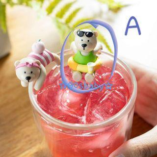 🐻Starbucks bearista on the cup 杯緣子🐻