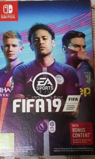 🚚 Nintendo Switch Fifa 19