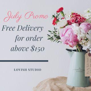 🚚 July Promo