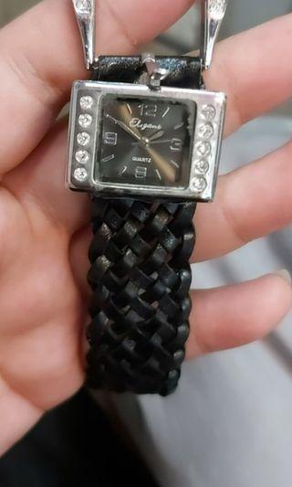 Eliganb女裝鑽飾手錶