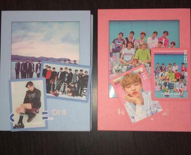 WANNAONE 1X1 ( TO BE ONE ) ALBUMS // price inc postage