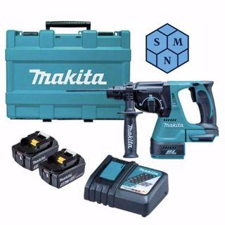 Makita DHR242RTE DC Combination Hammer 18V