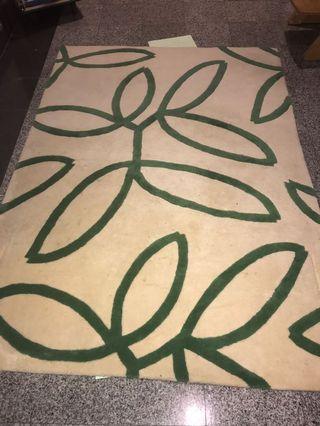 Ikea HEDDA wool pile rug 140cm x 200cm
