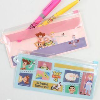 🚚 Bic經典筆&筆袋套組 玩具總動員4鉛筆盒