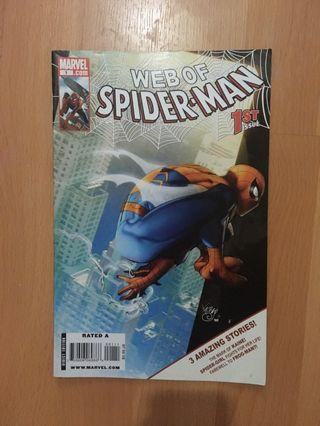 Web of Spiderman Comic