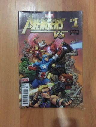 The Avengers Comic