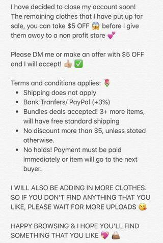 ATTENTION SHOPPERS ❗️