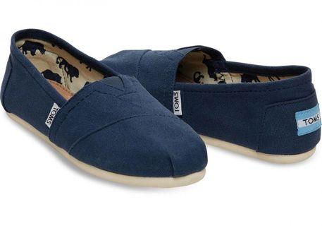 Thrifted Authentic Toms Navy Blue