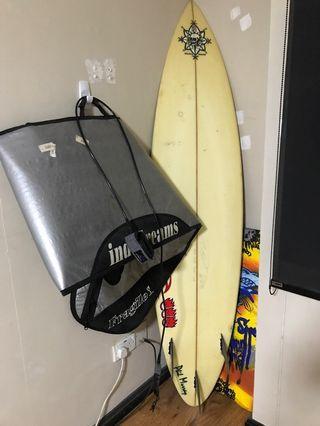 🚚 surfboard ($100)