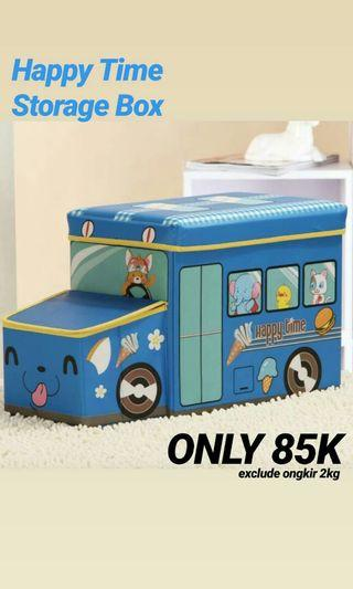 Storage Box or Toy Box Lucu Happy Time