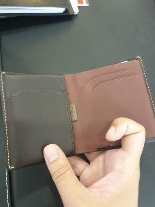 Bellroy Note Sleeve in Java Brown