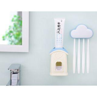 雲朵小屋自動擠牙膏器