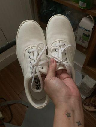 Max-star韓國厚底帆布鞋