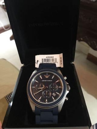 Authentic EMPORIO ARMANI AR6068 Mens watch