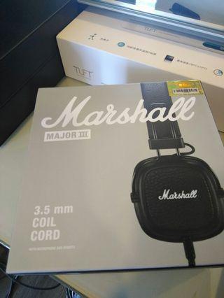 全新maishall 耳機