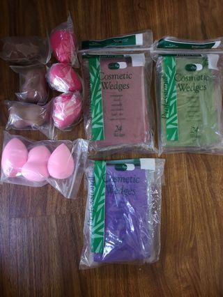 Makeup Wedges & blender