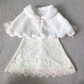 美國訂造kona Mali creation flower girl dress花女裙(連披肩)