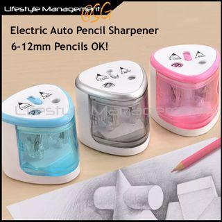 Children Kids Electric Auto Automatic Pencil Sharpen Sharpener School Office Home Classroom