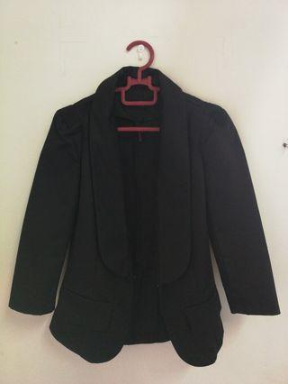 Crop fashion Black Blazer