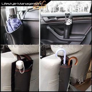 Car Rain Umbrella Holder Bag Pouch Cup