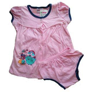 OKBB Baby Clothing Girl Dress With Panties Size: L 9-12M