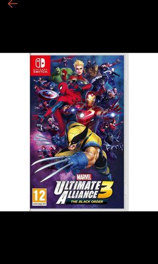 Pre-order Marvel Ultimate Alliance The Black Order Nintendo Switch (EU)