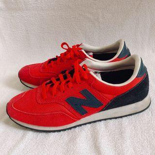 二手New balance 620 紅色麂皮休閒鞋 慢跑鞋