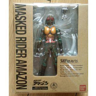 BANDAI S.H.Figuarts Kamen Rider Amazon (Amazon JP special Edition) - Free Shipping