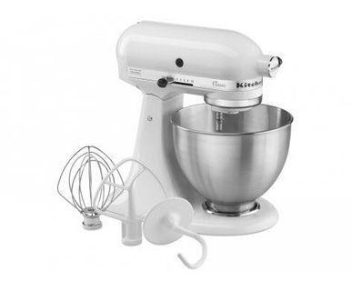 KitchenAid Classic White Mixer