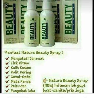natura beauty spray