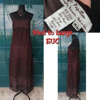 medium to large maxi dress
