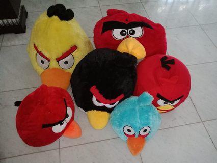 Boneka Angry Bird