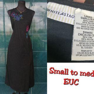 small to medium maxi dress