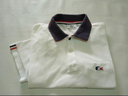 Polo Shirt Lacoste French Rare