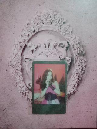 WTS WTT Blackpink KTL Official Polaroid