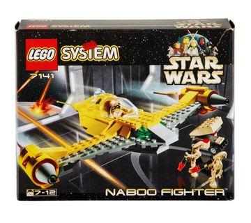 Lego Star Wars Naboo Fighter
