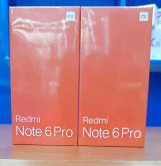 Xiaoping MI Note 6 pro 64gb+4gb