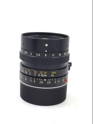 Leica M 28mm F2.8 Elmarit Version 3