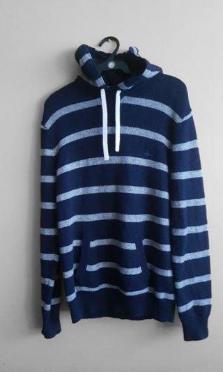 Jack Wills knitted hoodie