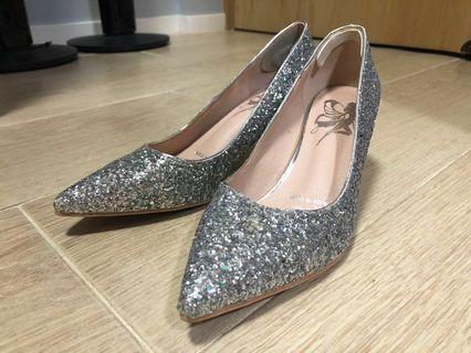 90% NEW blink blink wedshoes 婚鞋