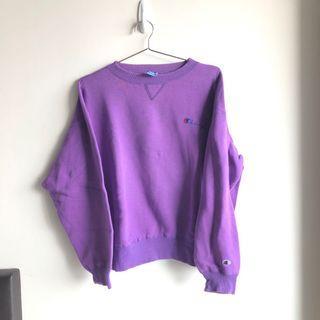 Champion Sweatshirt Purple
