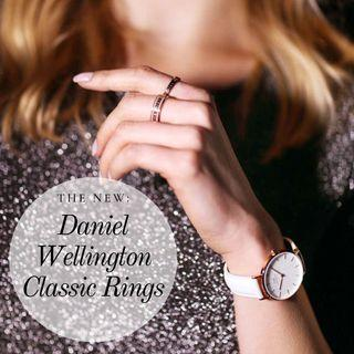 🚚 💯Daniel Wellington Classic Rings NEW (Rose Gold/Silver)