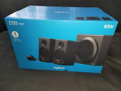 Brand New Logitech Z333 Multimedia Speakers with Subwoofer system