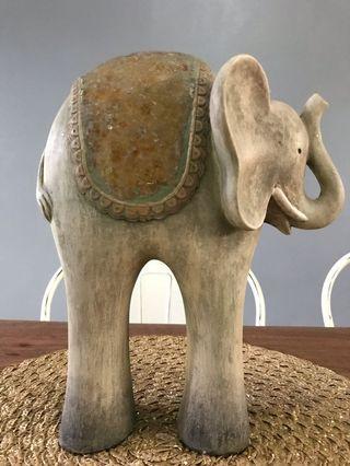 Elephant Display Decor for Spa Balinese Modern Design Homes