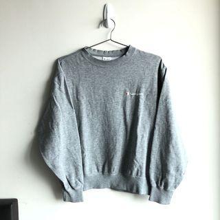 Champion Grey Scrip Sweatshirt