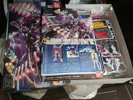 HG 1\144 Cross Bone Gundam X1 Full Cloth GBFT 高達模型 海賊高達X1 全武裝