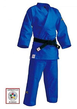 blue mizuno judo gi authentic