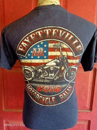 T SHIRT MOTORCYCLE RALLY