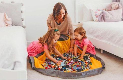 SlideAway Basket玩具收納袋 玩具收納箱 lego收納 收納神器 眾籌產品 小朋友玩具